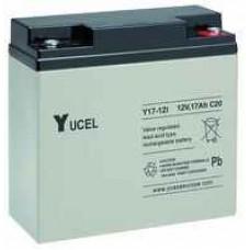 YUCELL - 12V 17AH Battery